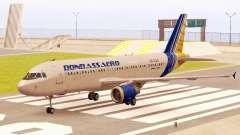 Airbus A320-200 Донбассаэро для GTA San Andreas