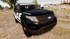 Ford Explorer 2013 Police Interceptor [ELS] для GTA 4