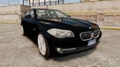 BMW M5 F10 2012 Unmarked Police [ELS] для GTA 4
