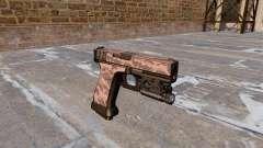 Пистолет Glock 20 Red Tiger