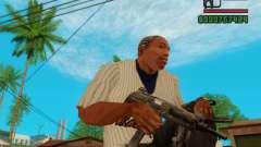 Пистолет-пулемёт UZI для GTA San Andreas