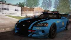 Dodge Viper SRT 10 ACR Police Car для GTA San Andreas