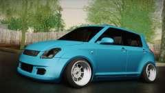 Suzuki Swift Hellaflush