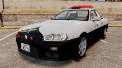 Nissan Skyline ER34 Police для GTA 4