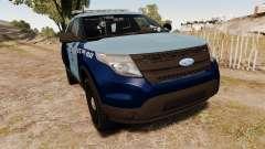 Ford Explorer 2013 MSP [ELS] для GTA 4