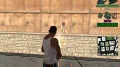 C-Hud Grove Street для GTA San Andreas