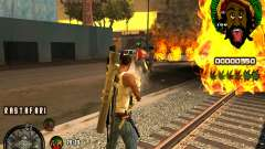 C-HUD Rastafari для GTA San Andreas