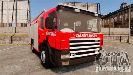Венгерская пожарная машина [ELS] для GTA 4