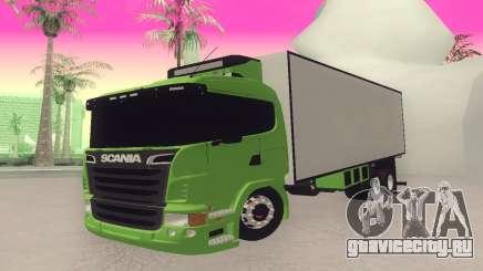 Scania 310 Bau для GTA San Andreas