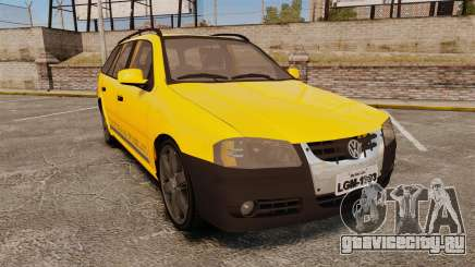 Volkswagen Parati G4 Track and Field 2013 для GTA 4