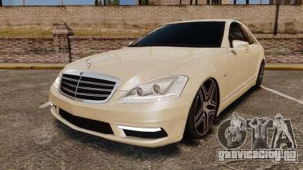 Mercedes-Benz S65 (W221) AMG для GTA 4