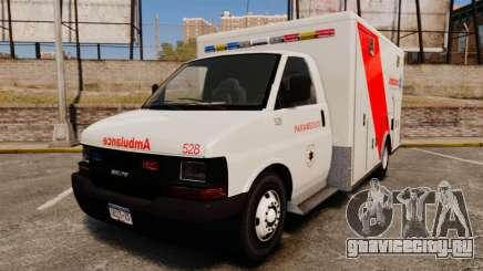 Brute Speedo RLMS Ambulance [ELS] для GTA 4
