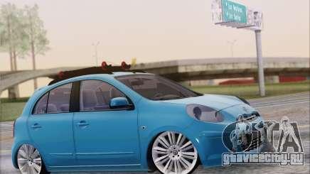 Nissan March для GTA San Andreas