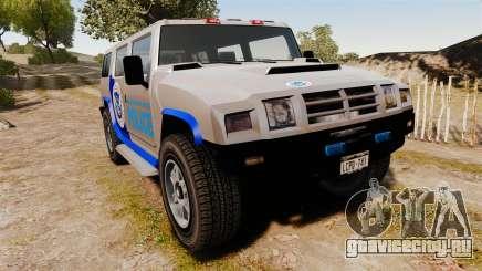 Patriot Police v2.0 для GTA 4
