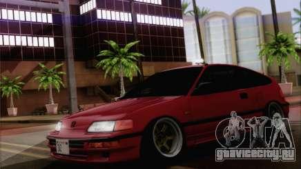 Honda CRX Low Gang для GTA San Andreas
