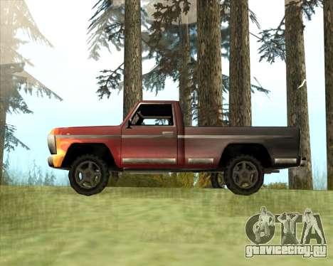 Новый Джип (Yosemite) для GTA San Andreas вид слева