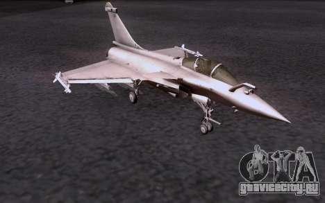 Dassault Rafale M для GTA San Andreas вид сзади слева