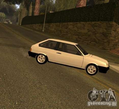 ВАЗ 2108 GVR Version 2.0 для GTA San Andreas