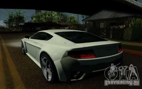 Rapid GT для GTA San Andreas вид сбоку