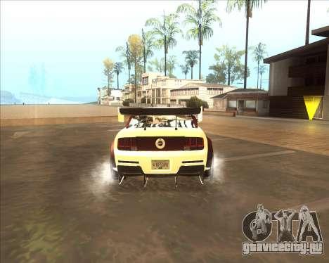 Ford Mustang GT из NFS MW для GTA San Andreas вид справа
