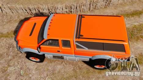 GTA V Vapid Sandking XL wheels v2 для GTA 4 вид справа