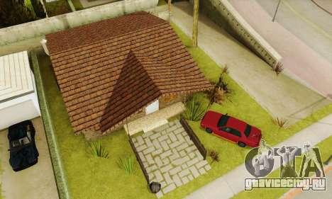 Новые текстуры дома Денис для GTA San Andreas шестой скриншот