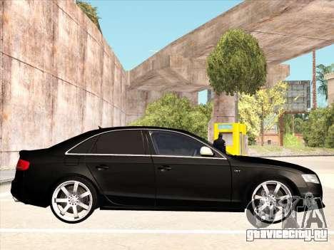 Audi S4 для GTA San Andreas вид справа
