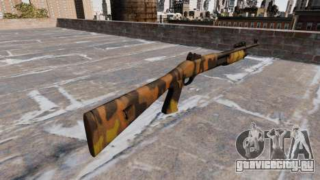 Ружьё Benelli M3 Super 90 Fall Camos для GTA 4 второй скриншот