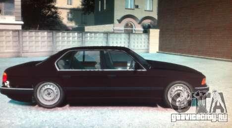 BMW 735iL E32 ver 2 для GTA 4 вид слева