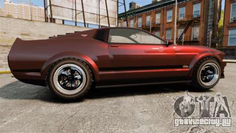 GTA V Vapid Dominator wheels v1 для GTA 4 вид слева