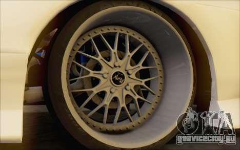 Nissan 240sx Blister для GTA San Andreas вид сзади