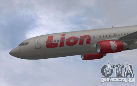 Lion Air Boeing 737 - 900ER для GTA San Andreas