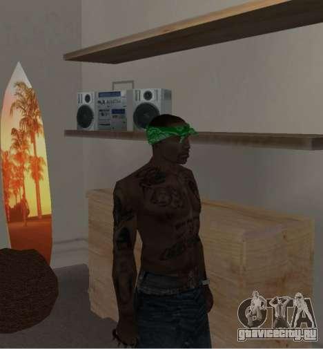Новые банданы для CJ для GTA San Andreas седьмой скриншот