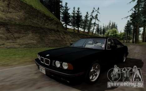 BMW 540i (E34) для GTA San Andreas вид справа