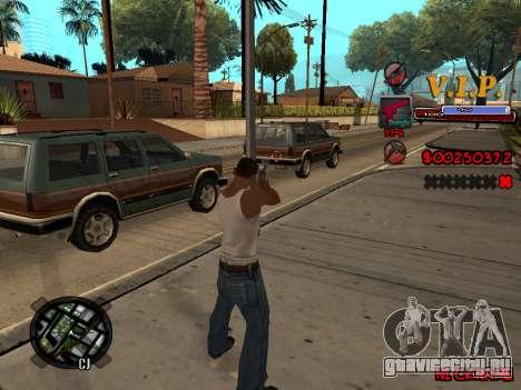 C-HUD VIP для GTA San Andreas