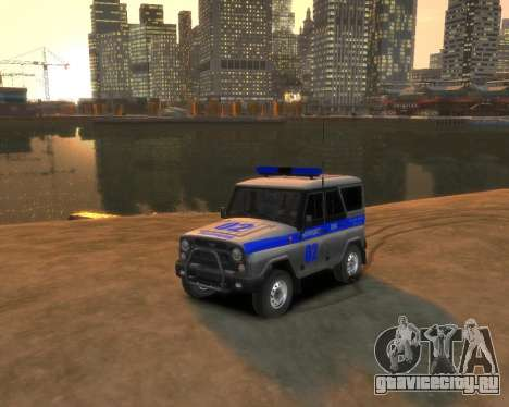 УАЗ 315195 Hunter Полиция для GTA 4