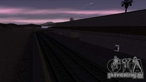 Новые текстуры ЖД Вокзала в Лас Вентурасе для GTA San Andreas четвёртый скриншот