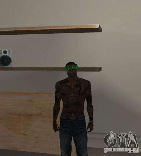 Новые банданы для CJ для GTA San Andreas пятый скриншот