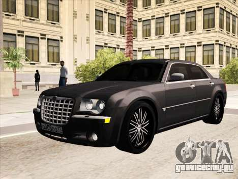 Chrysler 300C 2009 для GTA San Andreas вид снизу