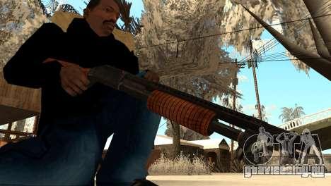 M1897 from Battle Territory Battery для GTA San Andreas второй скриншот