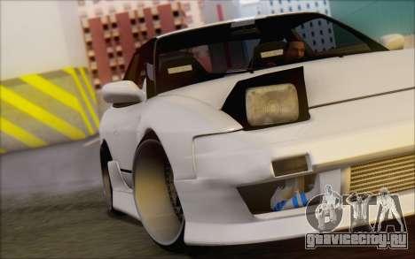 Nissan 240sx Blister для GTA San Andreas вид сверху