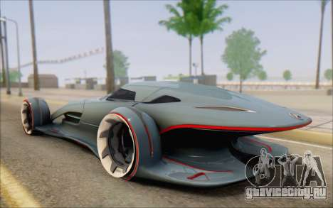 Mercedes-Benz SilverArrow для GTA San Andreas вид слева