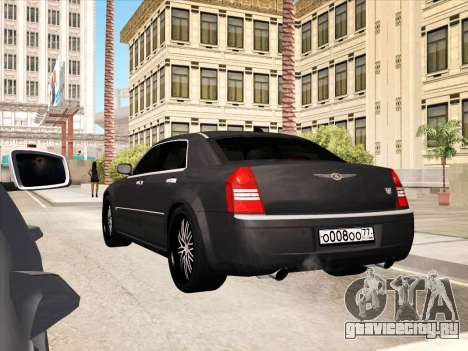Chrysler 300C 2009 для GTA San Andreas двигатель