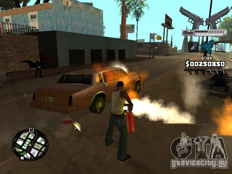 C-HUD Deagle для GTA San Andreas седьмой скриншот