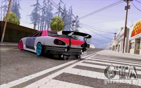 Elegy New Drift Kor4 для GTA San Andreas вид слева