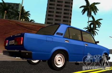 ВАЗ-2107 Riva для GTA San Andreas вид слева