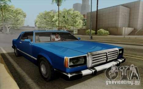 Feltzer с жёсткой крышей для GTA San Andreas вид сзади
