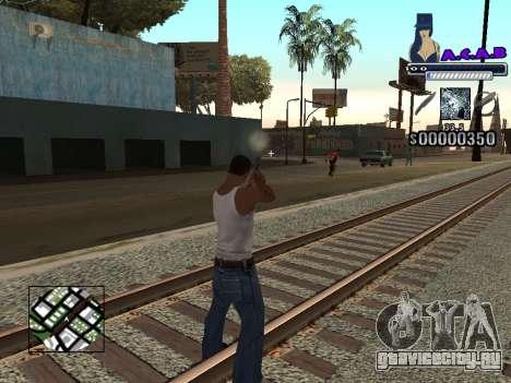 C-HUD new A.C.A.B для GTA San Andreas третий скриншот