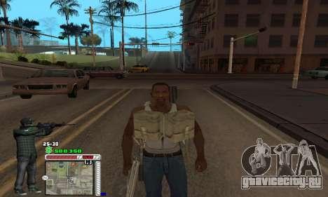C-HUD Grove by Krutoyses для GTA San Andreas четвёртый скриншот