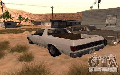 Picador GTA 5 для GTA San Andreas вид слева